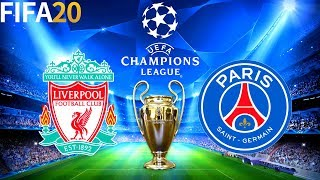 FIFA 20 | Liverpool vs PSG - UEFA Champions League - Full Match & Gameplay