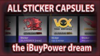 ALL STICKER CAPSULES: THE iBuyPower HOLO DREAM