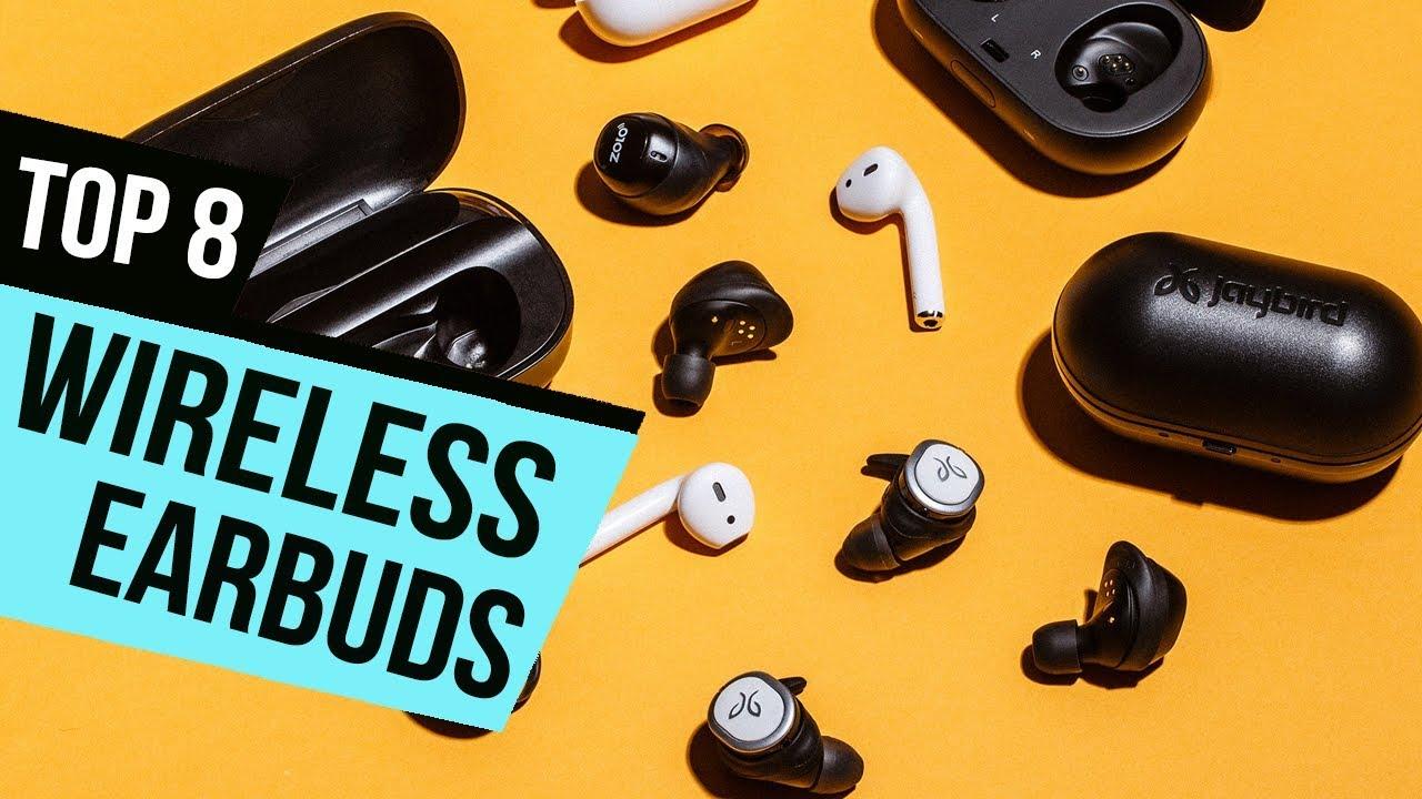 92b59a90a8d 8 Best Wireless Earbuds 2018 Reviews - YouTube