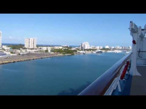 Adventure of the Seas Jan 2013 Pan AM pier in San Juan PR