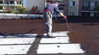 Liquid Rubber - uszczelnianie dachu z blachy