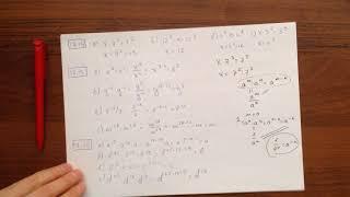 М7 (17.1-17.42) Свойства степени с натуральным показателем.