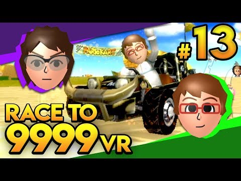 Mario Kart Wii - THE GOAT COMBO?! - Race To 9999 VR | Ep. 13