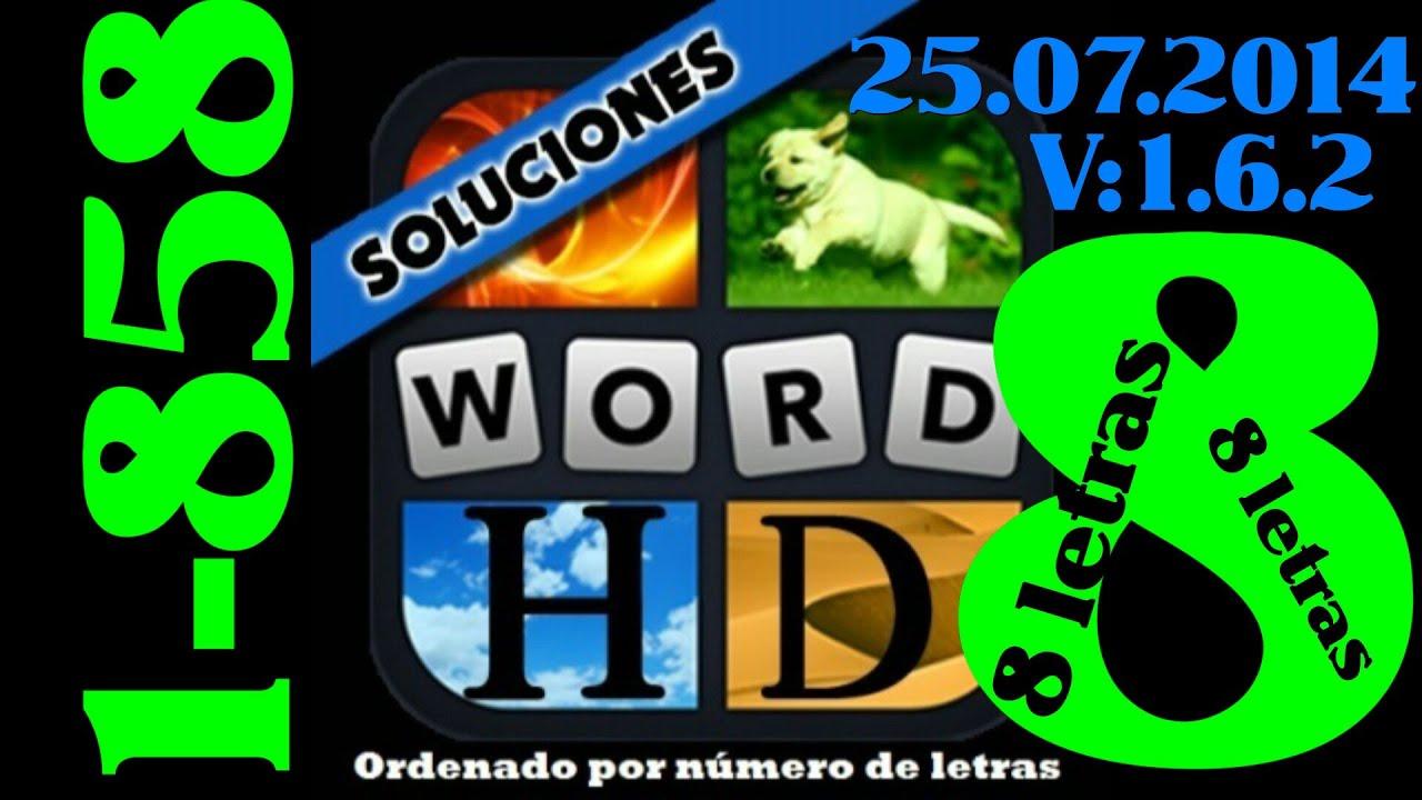 4 Fotos 1 Palabra Todas Las Soluciones De 8 Letras 1 858 Youtube