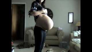 Embarazada al telefono