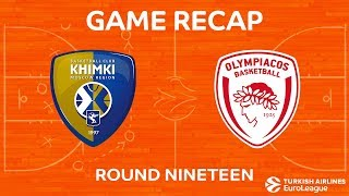 Highlights: Khimki Moscow region - Olympiacos Piraeus