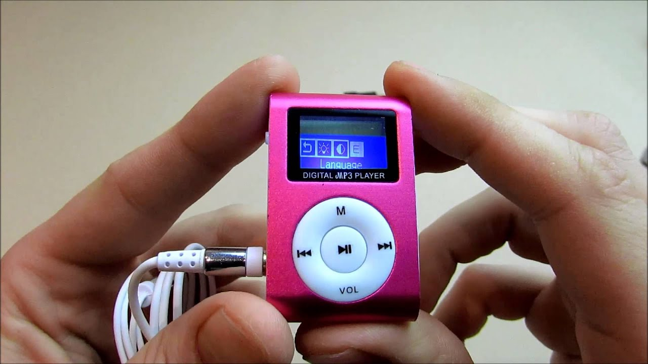 Дешевый MP3 плеер из Китая с Aliexpress!!! Слушать МОЖНО!!!