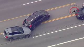 Police chase stolen minivan from San Fernando Valley to Echo Park