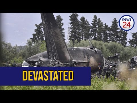 WATCH: Plane crash kills 257 people in Algeria