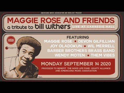 Tribute To Bill Withers (w. Friends) (In Concert)