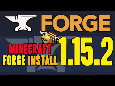 FORGE 1.15.2 Minecraft - How To Download & Install Forge 1.15.2 (on Windows)