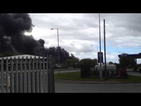 Factory Fire at Greenfield