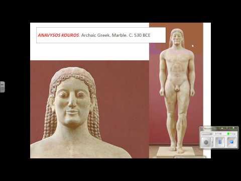 Archaic Greek Statues