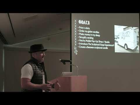 Luis Garcia at Guildit's Art/Biz Forum