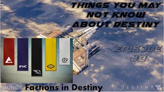 DES 101 | Ep 8 | How to join a Faction & Rank Up in the Faction | Destiny on Xbox 360