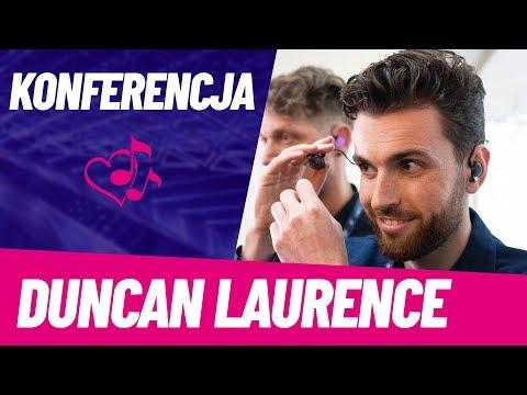Duncan Laurence opowiada o teledysku | HOLANDIA | KONFERENCJA | Eurowizja 2019