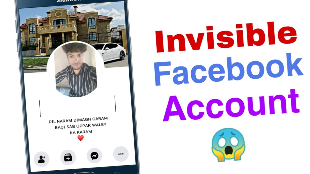 How to Make Invisible Facebook Account / Android Tech Guru ...
