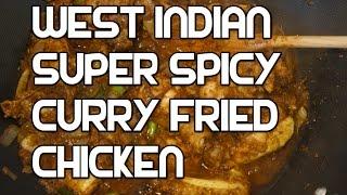 Jamaican Fried Curried Chicken Recipe