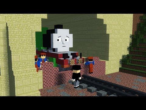 Minecraft The Sad Story of Henry Thomas & Friends Animation