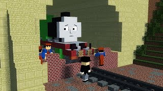 Minecraft The Sad Story of Henry Thomas & Friends Animation