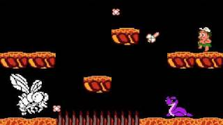Adventure Island II (NES) (Last level, last boss and credits)