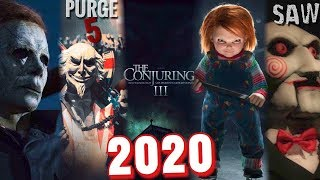 EVERY UPCOMING HORROR MOVIE 2020