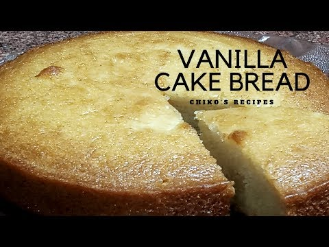  VANILLA CAKE BREAD    LG CONVECTION MICROWAVE OVEN    EGGLESS    CHIKO'S RECIPES    EASY RECIPE  
