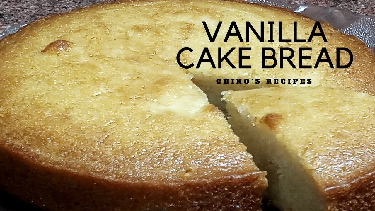Vanilla Cake Microwave Convection