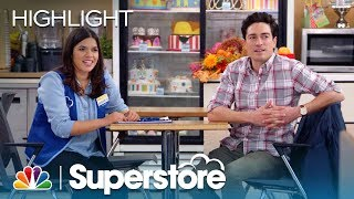 Amy and Jonah Reveal They're Dating - Superstore (Episode Highlight)