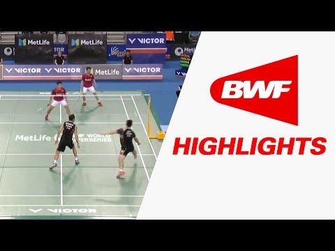 Victor Korea Open 2017 | Badminton QF – Highlights