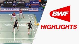 victor korea open 2017   badminton qf highlights