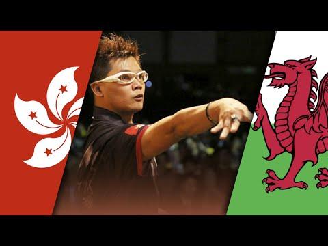 [1080p] Darts World Cup 2015: Wales vs Hongkong | 1st Round | German