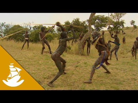 The Donga stick fighting
