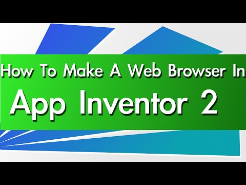 How To Make A Web Browser In App Inventor 2