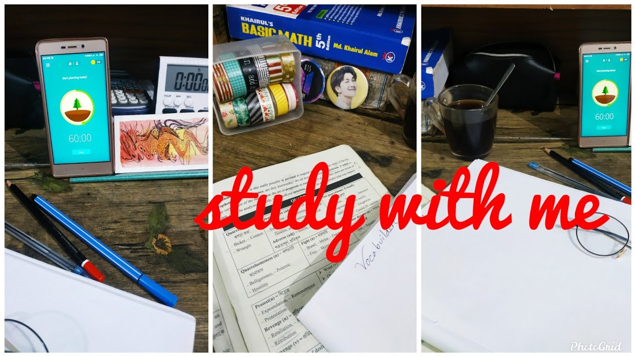 Study with me | Real Time