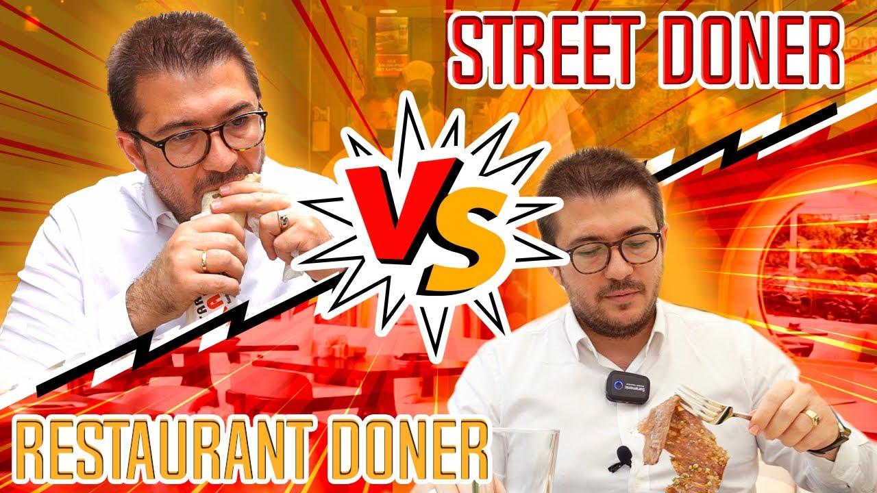 DELICIOUS TASTES! The Best Street Doner vs Restaurant Doner in Istanbul 🌯