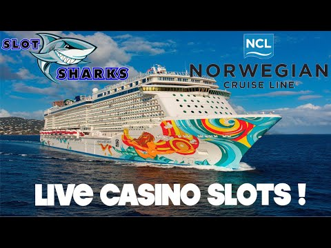 🚨 LIVE Friday Night Slots from Sea 🦈 Norwegian Getaway 🛳