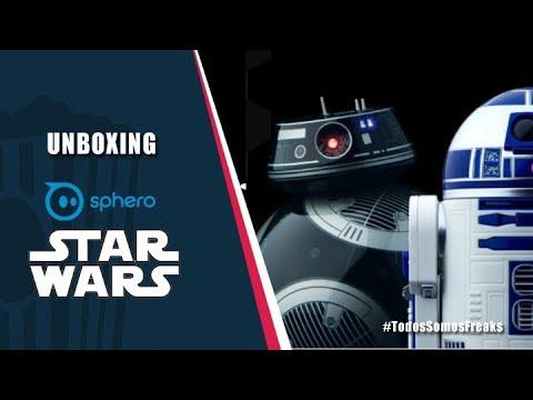 Probamos y jugamos con los Sphero de Star Wars | Canal Freak
