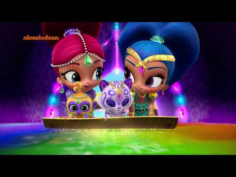 Shimmer and Shine Song Boom Zharamay
