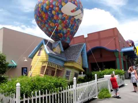 Pixar S Up Inflatable House Downtown Disney Lake Buena
