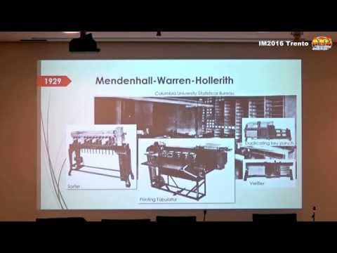 IM2016 Videos: 7. Correlation Machines  - Andries de Man -