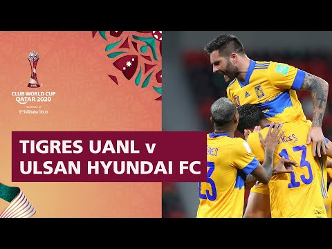 Tigres UANL v Ulsan Hyundai | FIFA Club World Cup Qatar 2020 | Match Highlights