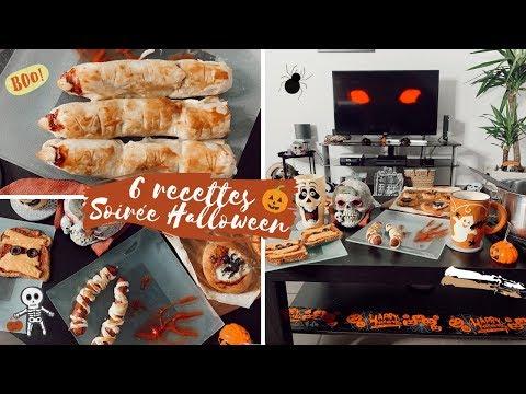 6-recettes-👻-soirÉe-halloween-🎃-snacks-&-desserts-⎜merry
