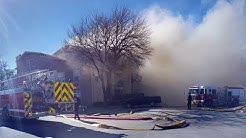 Apartment Fire in Mesquite TX.
