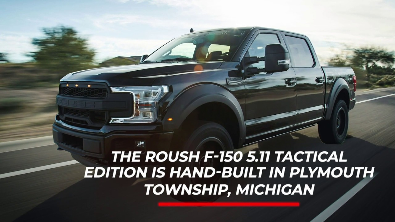 2020 ROUSH F-150 5.11 Tactical Edition | Package Overview