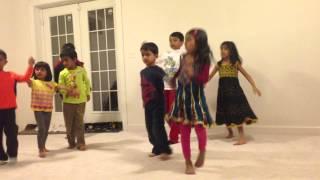 Kids dance practice for Minnaram song