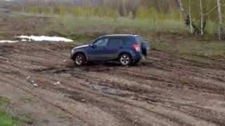 Off road Suzuki Grand Vitara и Nissan Safari(По грязи и лужам на Suzuki Grand Vitara и Nissan Safari., 2013-05-12T04:20:35.000Z)