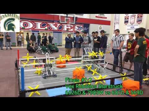 Vex Robotics Starstruck Damien High School Robotics Semi-Finals #1-2