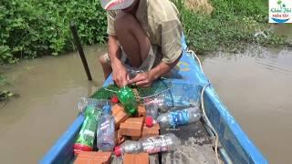 78 | Thả câu chai bằng mồi dế quá nhạy | fishing