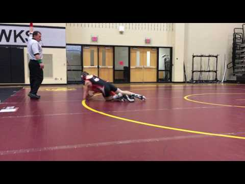 Nick Ifju 122 Westerville Central High School Open Tournament Match #1 3/12/17